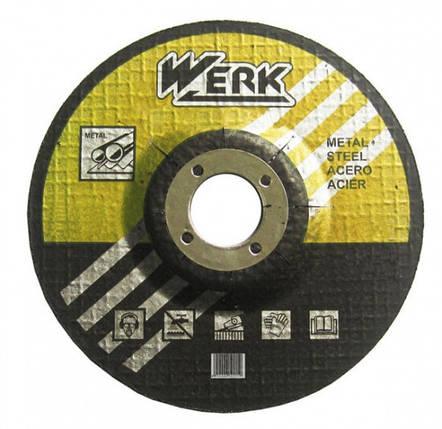 Круг зачисний WERK 115х6.3х22.23 мм, фото 2