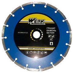 Алмазный диск Werk Segment 1A1RSS/C3-W WE110100 115x7x22.23 мм