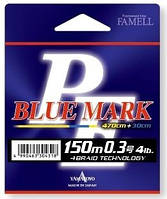 Шнур Yamatoyo PE Blue Mark Fluo Yellow 0.4 (5lb) 150м