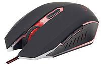 Мышь игровая Gembird MUSG-001-R, USB red