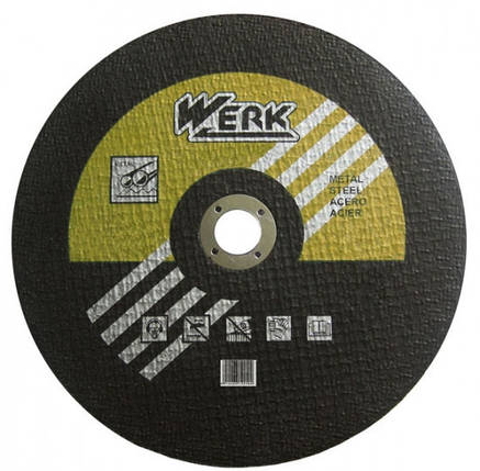 Круг отрезной WERK 350х3х25.4 мм, фото 2