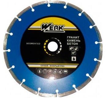 Алмазний диск Werk Segment 1A1RSS/C3-W WE110101 125x7x22.23 мм