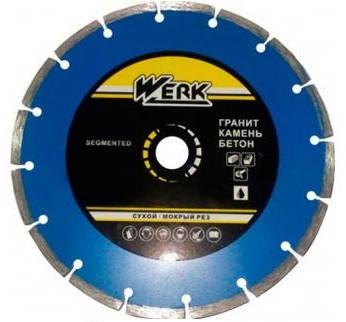 Алмазний диск Werk Segment 1A1RSS/C3-W WE110101 125x7x22.23 мм, фото 2