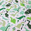 """Бязь """"Зеленые драконы"""""""