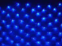 Гирлянда Сетка светодиодная 2х2 м, цвет: синий 240 LED