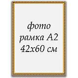Рамка А2 42х60  ширина багета 2,4 см 2422-05MF, фото 2