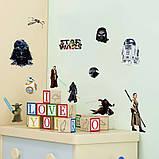 Прикольная интерьерная наклейка на стену Star Wars (027), фото 3