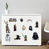 Прикольная интерьерная наклейка на стену Star Wars (027), фото 2