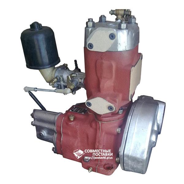 Двигатель П-10УД в сборе Д24.с01-5 (качественная реставрация) Пускач ПД-10 для МТЗ ЮМЗ