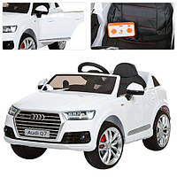 Детский электромобиль Bambi Audi  (M 3231EBLRS-1),белый