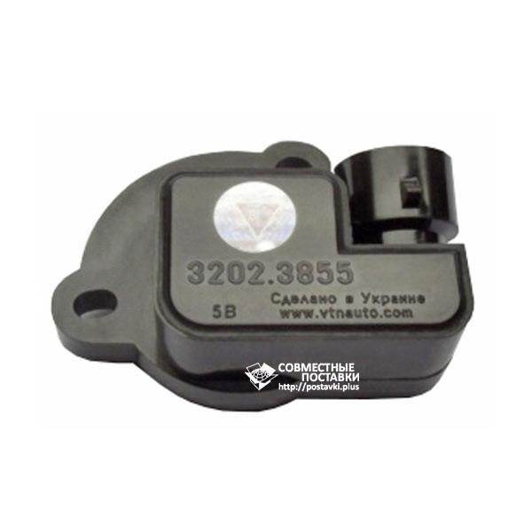 Датчик бесконтактный ДПДЗ 3202.3855 положения дроссельной заслонки (блистер)