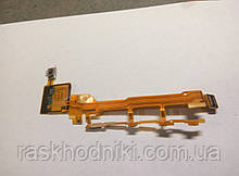 Шлейф (Flat cable) Sony C6602 Xperia Z/ C6603 Xperia Z, с кнопкой включения, громкости, микрофоном