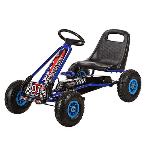 Детская педальная машина веломобиль Карт M 0645-4 ( А-15)