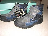 Зимние кожаные ботинки Clarks р.13.5 наш р.32, стелька 20.5см Gore-Tex