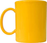 Чашка из поликарбоната ударопрочная, желтая