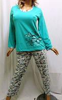 Пижама с длинным рукавом(длинные штаны)