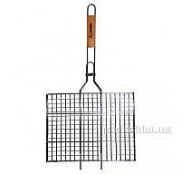 Решетка для гриля с деревянной ручкой Скаут 0703