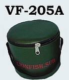 Сумка - Ведро LionFish.sub для прикормки 5 л с крышкой на молнии и ручкой ПВХ, фото 2