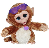 Интерактивная обезьянка FurReal Friends Baby Cuddles My Giggly Monkey Pet Plush
