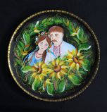 Подвесная тарелка №04