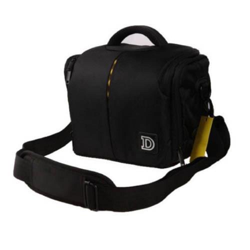 Качественная сумка для камерыс логотипамиNikon, 25 х 15 х 22 см