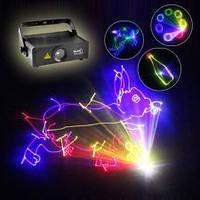 Анимационная полноцветная лазерная установка Reke 500 RGB, фото 1