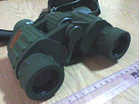 Бинокль Military 8x42 прорезиненный цвет хаки