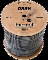 Кабель коаксиальный BiCoil F660BV DARK 75 Ом черный, фото 1