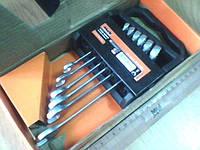 Набор ключей рожково-накидных Miol CRV сатин, 6 шт.