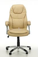 Кресло с массажем THORNET+ПОДОГРЕВ бежевое