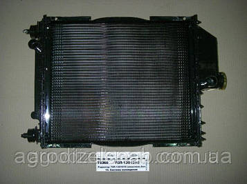 Радиатор вод.охлажд. МТЗ-80, Т-70 70У-1301.010 с дв. Д-240, 243 (4-х рядн.) (латунные бачки)
