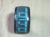 Светодиодные часы-браслет с зелеными светодиодами
