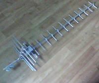 ТВ антенна ДМВ диапазона (21-69) 19-элементная