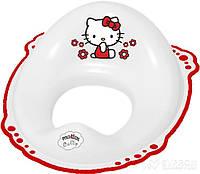 Накладка на унитаз Maltex Hello Kitty Белый