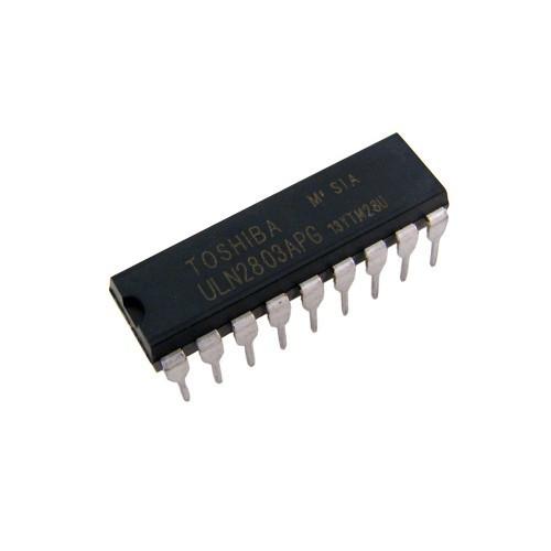 Чип ULN2803APG в DIP18, транзистор Дарлингтона