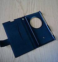 Чехол кожаный черный для смартфона Nokia Lumia 1020
