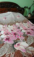 комплект постельного белья 3d  розовая орхидея