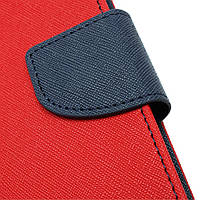 Чехол (книжка) Mercury Fancy Diary series для Apple iPad Air 2 Красный / Синий