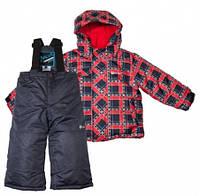 Комплект зимний , куртка и комбинезон Gusti 4858 SWB цвет красный размер 122