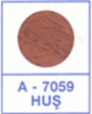 Заглушка самоклеющаяся на конфирмат груша темная 7059