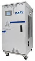 Стабилизатор напряжения сервоприводный вертикального типа RUSELF SDV.II-40000-L