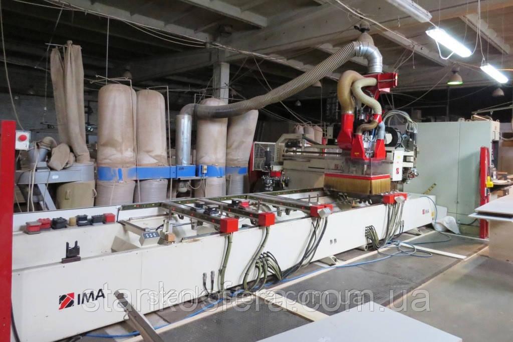 Обрабатывающий центр Bima 610/V/120/500 бу мультифункциональный с кромкооблицовочной станцией