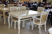 Стол обеденный раскладной DM-P4 Ext/ Стол Classic 07 BD