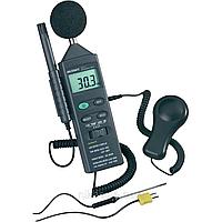 Шумомер DT-8820 (шумомер, люксметр, термогигрометр, термометр) 4 в 1