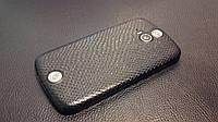 """Декоративная защитная пленка для  Acer Liquid E2 Duo V370 """"рептилия черная"""""""