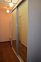 Зеркальный шкаф купе в прихожую, фото 1