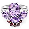 Кольцо серебряное 925 с натуральн. камнями р16.3