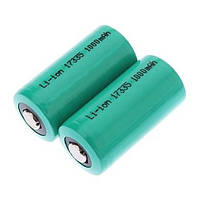 Аккумулятор UltraFire CR123A (16340/17335) Li-Ion 3V, 1000 mAh
