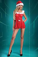 Новогодний эротический костюм Snowflake