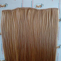 Искусственные волосы на заколках - прядь для объема